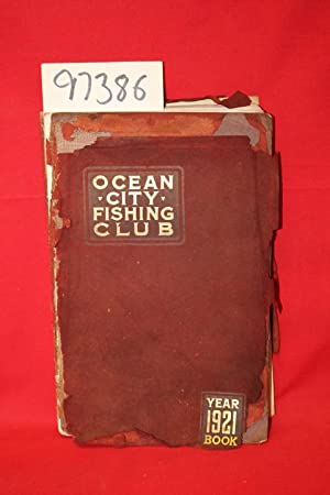 Ocean City FishingClub 1921 Year Book: Ocean City Fishing Club