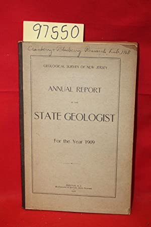 Annual Report of the State Geologist For the Year 1909: State Geologist