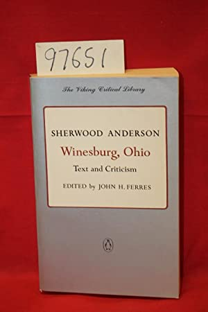 critical essays on winesburg ohio The back cover to the viking critical library edition of 'winesburg, ohio' by sherwood anderson reads: 'winesburg, ohio' is sherwood anderson's 1919 volume of interconnected stories about an ordinary small town whose citizens struggle with extraordina.