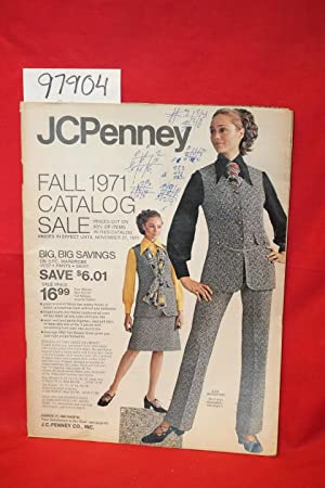 JCPenney Fall 1971 Catalog Sale: JCPenney