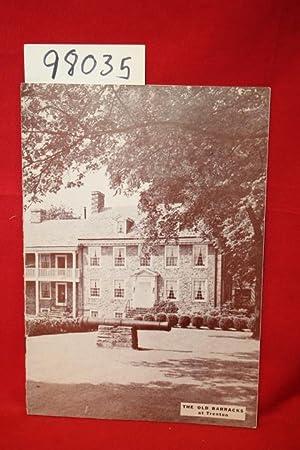 The Old Barracks at Trenton: Cottrell, Alden T.