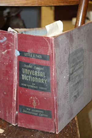 Complete Standard Universal Dictionary and Home Reference: Little and Ives