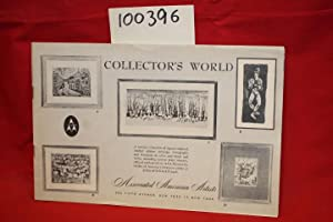 Collector's World (Norman Arthur Bate, Melvin Jules,: Associated American Artists
