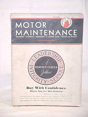 Motor Maintenance Magazine: Motor Maintenance Magazine