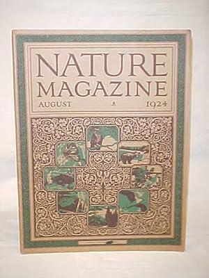 Nature Magazine, August 1924, Vol. 4, No. 2: Nature Magazine