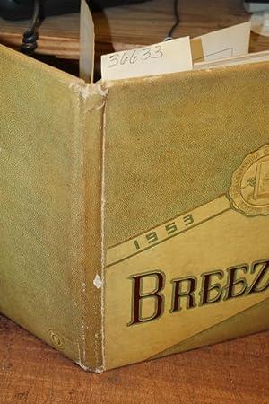 The Breeze 1953 Pleasantville High School Yearbook: Pleasantville High School