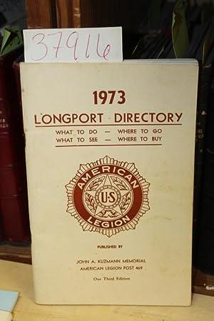 Longport New Jersey Directory 1973: Longport New Jersey