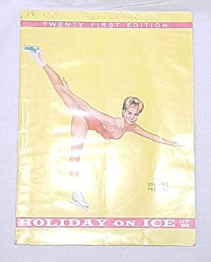Twenty-First Edition Program of Holiday on Ice, of 1966: ICE FOLLIES