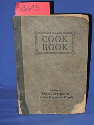 Cook Book: Ladies' Aid Society of Ventnor Community Church