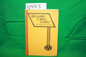 Billiard Table Games For Tables of All: Clifford, W. G.