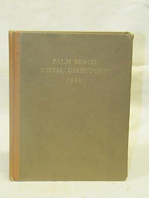 Palm Beach Social Directory 1923: Palm Beach Social Directory