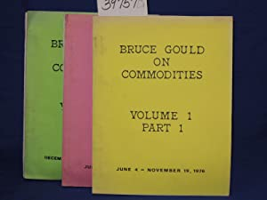 Bruce Gould on Commodities: 3 Volumes: Gould, Bruce