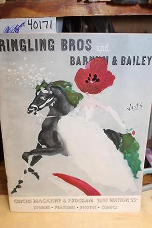 1956 Ringling Bros Barnum and Bailey Circus Magazine HARRY S DUBE: Ringling Bros