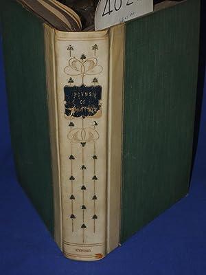 Poems Of Tennyson Vellum spine.: Warren, T. Herbert; M.A., Hon. D.C.L.