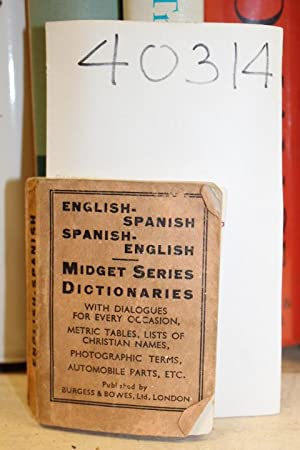 burgess bowes midget english dictionary