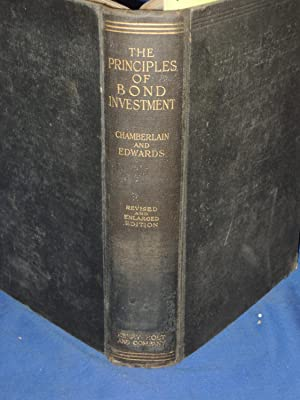 The Principles of Bond Investment: Chamberlain and Edwards