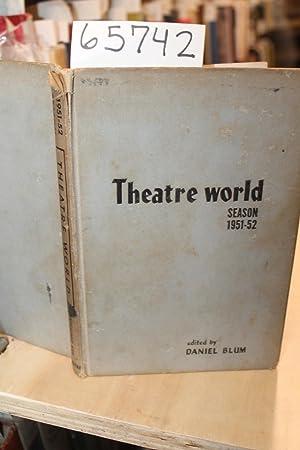 Daniel Blum's Theatre World Season 1951-1952: Blum, Daniel