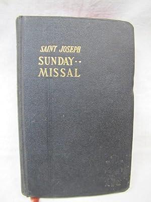 Saint Joseph Sunday Missal (A simplified arrangement: Fearns, John M.