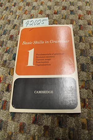 Basic Skills In Grammar: Book 1: Alger, Ralph K.