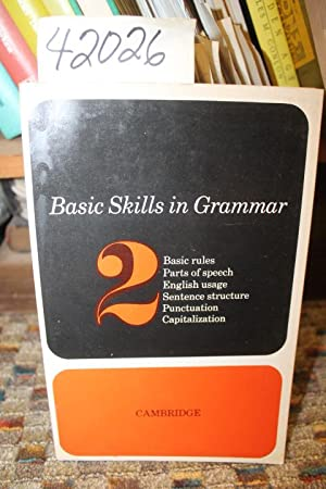 Basic Skills In Grammar: Book 2: Alger, Ralph K.