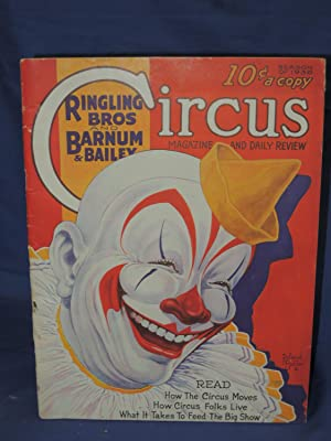 1936 Ringling Bros. and Barnum & Bailey Circus Magazine And Daily Review: Season of 1936: Feld,...