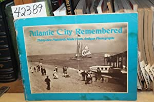 Atlantic City Remembered. Thirty-two Postcards Made From: Katz, Judith Nina