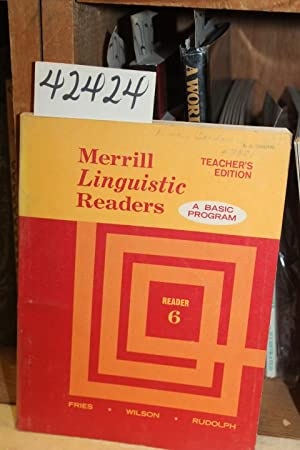 Merrill Linguistic Readers: A Basic Program Teacher's: Fries, Wilson &