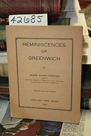 Reminiscences of Greenwich: Andrews, Bessie Ayars
