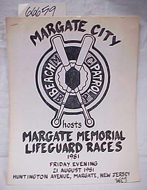 1981 Margate Memorial Lifeguard Races: Margate City Beach Patrol