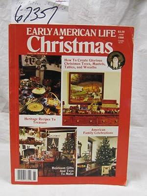 Early American Life Christmas 1988: Carnahan, Frances (editor)