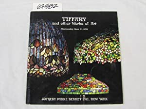 Tiffany and other Works of Art Wed June 21, 1978 Sale Number 4145: Sotheny Parke Bernet Inc