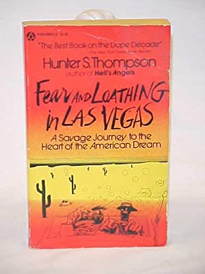 spiral blind Fear and Loathing in Las Vegas white or graph pages notebook 8.4 x 5.3 in Thompson Hunter S