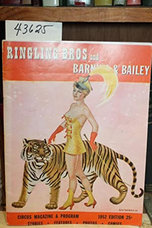 1952 Ringling Bros. and Barnum & Bailey Circus Magazine & Program 1952 Edition: Ringling ...