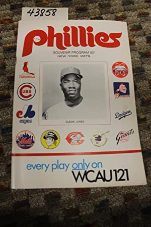 Phillies Baseball Souvenir Program - 1970: Phillies Baseball