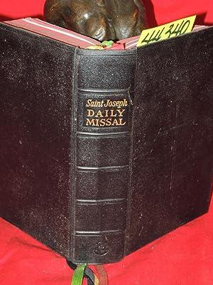 Saint Joseph Daily Missal: Hoever, Rev. Hugo H. [Editor]
