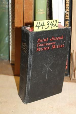 Saint Joseph Continuous. Sunday Missal: Hoever, Rev. Hugo [Editor]