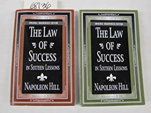 THE LAW OF SUCCESS in Sixteen Lessons: Hill, Napoleon