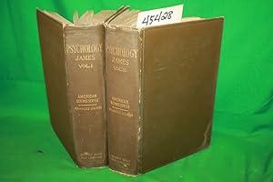 The Principles of Psychology: 2 Volume Set: James, William