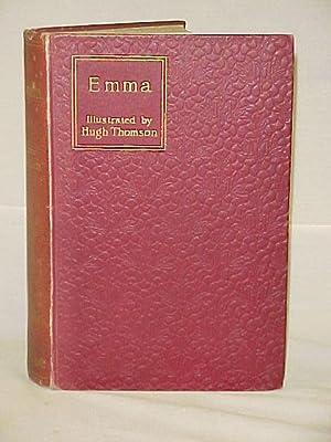 Emma, 1901, Macmillan, NY, Red Hardback: Austen, Jane