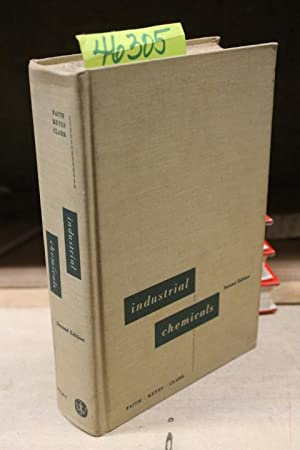 Industrial Chemicals, second edition 1957: Faith, W. L.;