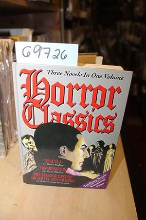 Horror Classics ( Dracula, Frankenstein, The Strange: Stoker, Bram and
