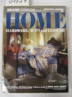 Sears Home Hardware Auto and Leisure Fall/Winter Catalog 1990: Sears Roebuck