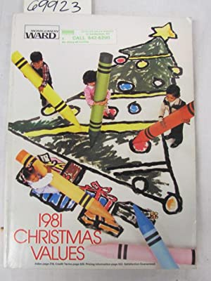 1981 Montgomery Ward Christmas Values Catalog 1981: Montgomery Ward