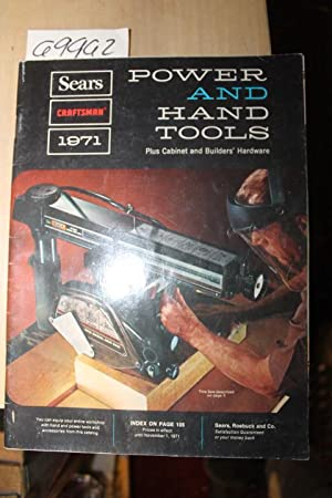 Sears Power and Hand Tools Catalog 1971: Sears Roebuck