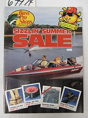 Bass Pro Shops Sizzlin' Summer Sale 1990 Catalog: Morris, Johnny