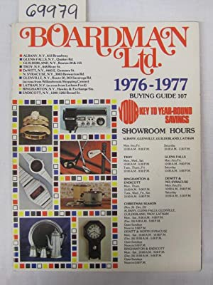 Boardman Ltd. Buying Guide 1976-1977: Boardman Ltd.