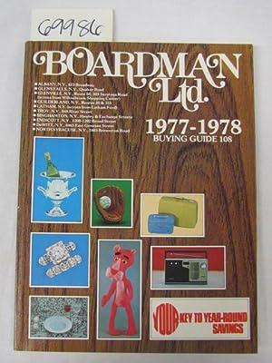 Boardman Ltd. Buying Guide 1977-1978: Boardman Ltd.