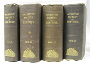 The Document History of the State of New York Volume 1 to 4: O' Callaghan, E.B.