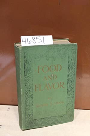 Food and Flavor: Finck, Henry T.
