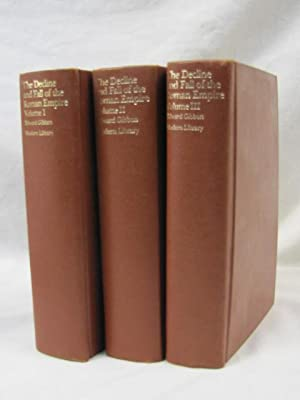 The Decline and Fall of the Roman Empire Volume 1-3: Gibbon, Edward